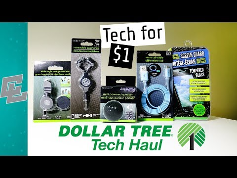 Dollar Tree Tech Haul | Tech For $1