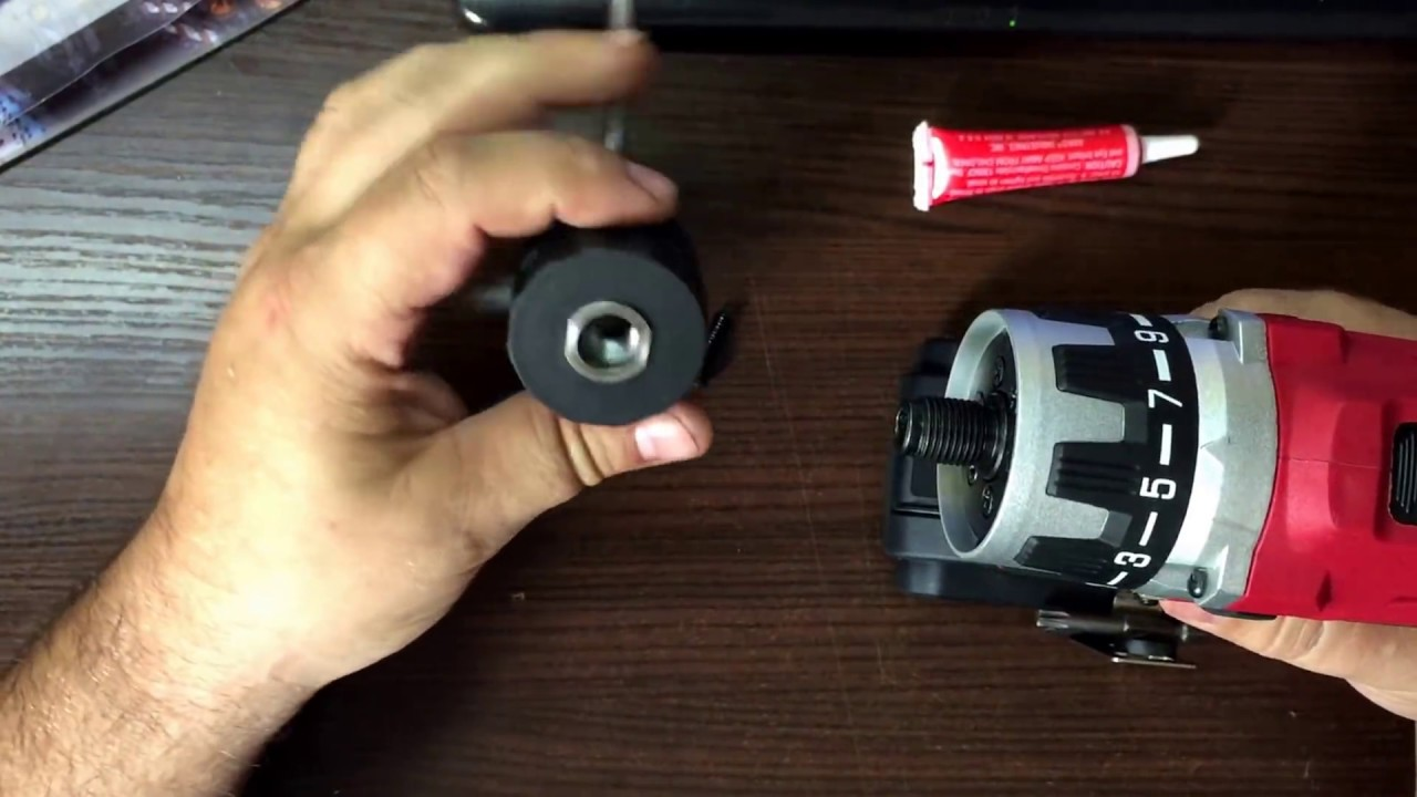Как легко снять и поставить патрон c дрели или шуруповёрта за 5 минут. Лайфхак