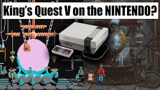 How Does King's Quest V on the NES Compare to the Original?