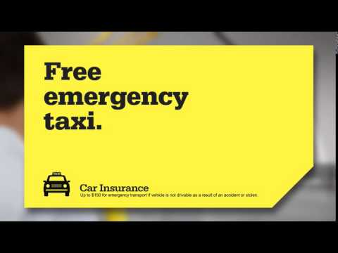 RAA Car Insurance Emergency Taxi TV Commercial 2015