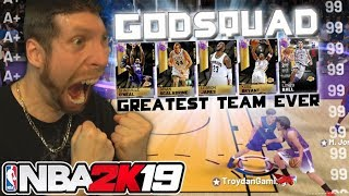 The Greatest NBA 2K19 Team EVER!