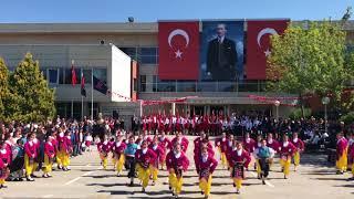 TED Ankara Koleji Halk Oyunları Topluluğu 23 Nisan Gösterisi
