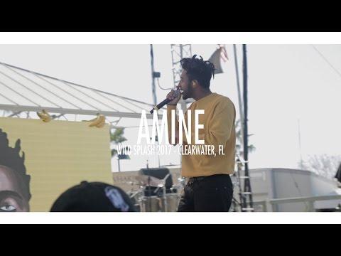 Amine - Caroline | Wild Splash