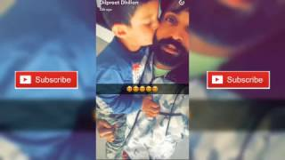 Dilpreet dhillon enjoys his free time with his cute nephew ✴ must watch✴ snapvlog #1