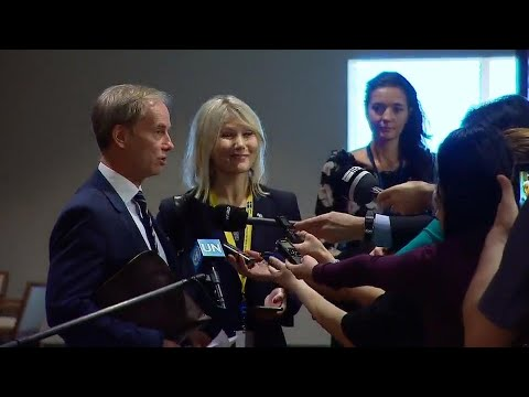 Sweden on the situation in Syria - Media Stakeout (20 February 2018)