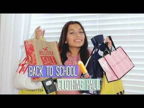 Back to School Clothing Haul 2016!!