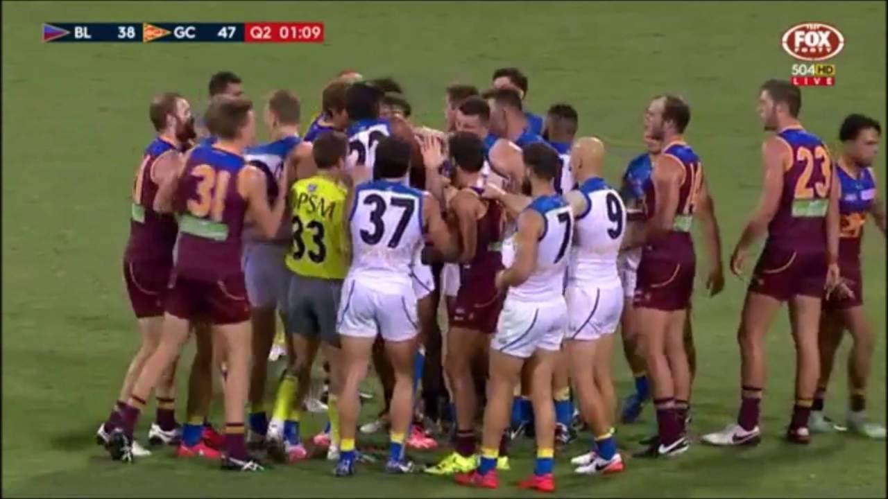 AFL Fights & Hits 2016