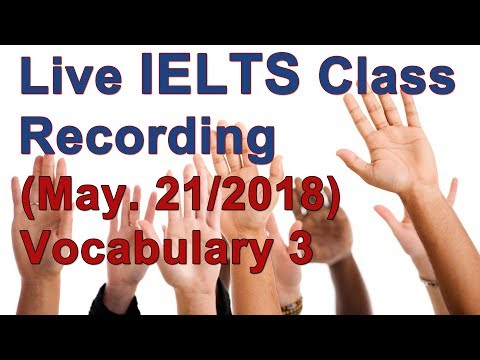 IELTS Vocabulary and Strategy for High Scores
