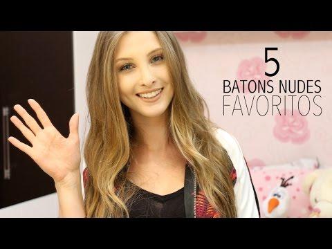 5 Batons Nudes Favoritos