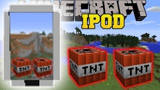 Minecraft: IPOD APPS (LOTS OF NEW APPS!) Mod Showcase