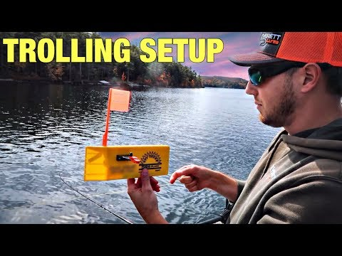 My Trolling Setup For Trout & Salmon
