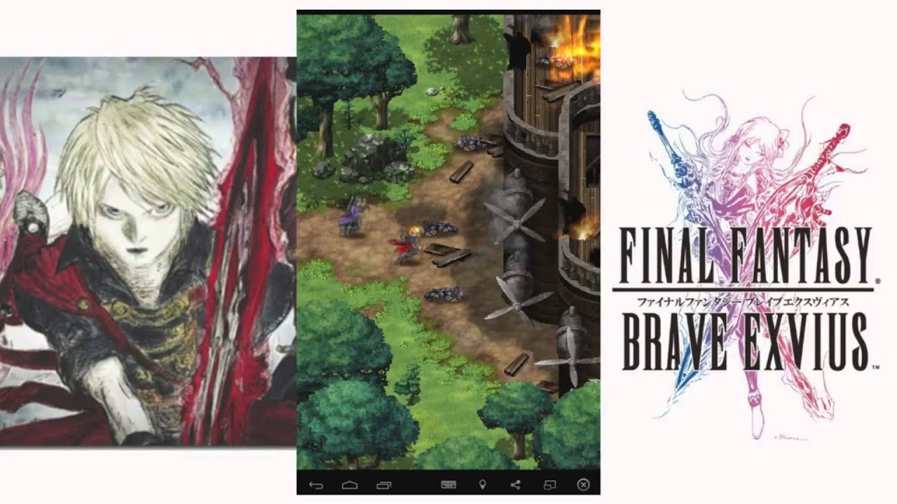 Final Fantasy Brave Exvius - New Final Fantasy Mobile Game