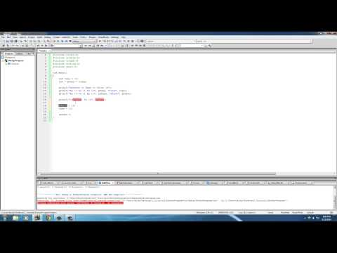 C Programming Tutorial - 43 - Dereference Pointer