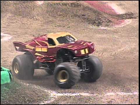 Monster Jam Iron Man Amp Stone Crusher Monster Trucks