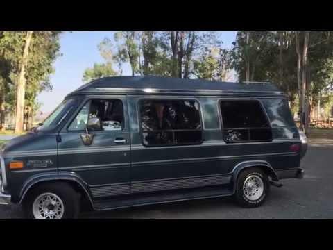 1995 chevy g20 conversion van tour youtube. Black Bedroom Furniture Sets. Home Design Ideas