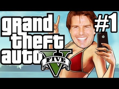 Thumbnail: GTA 5 (Grand Theft Auto 5) Gameplay - FREE HUGS!