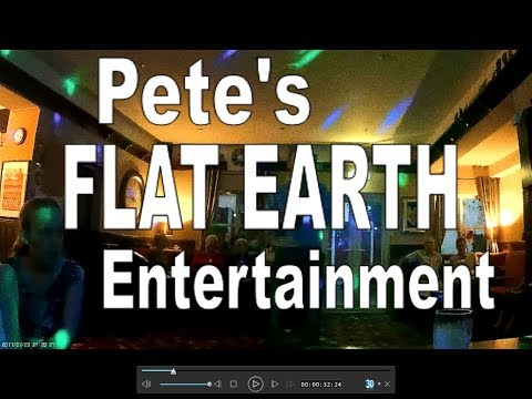 Flat Earth Entertainment - Pete sings Karaoke