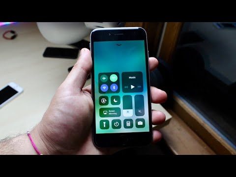 iOS 11 OFFICIAL On iPHONE 6! (Review)