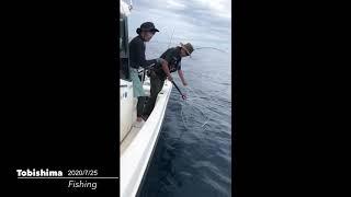 2020 7 25 飛島釣り
