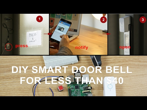 Build a Cheap Smart Doorbell That Sends You a Picture When Someone Rings the Bell