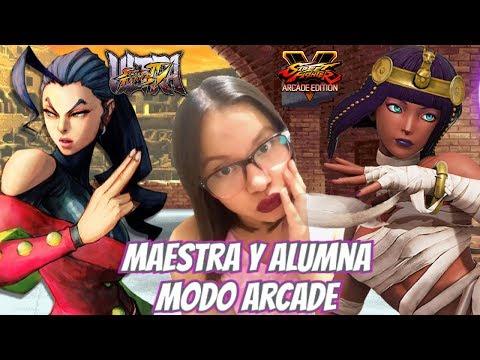 Ultra Street Fighter IV & V   Rose & Menat   Modo Arcade