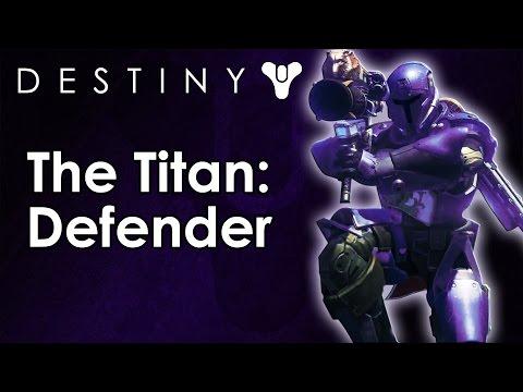 The Classes of Destiny Breakdown: Titan - Defender Subclass (Destiny Beta)