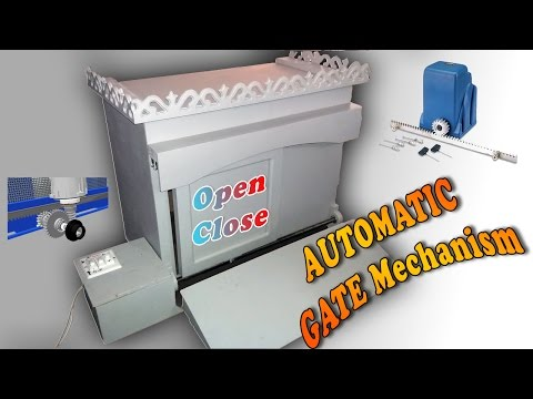 Mechanical Engineering Projects Automatic Gate Mechanism