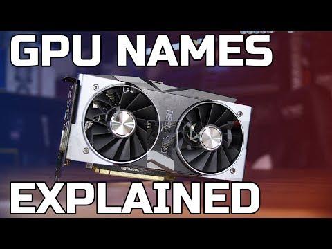 GPU Names Explained