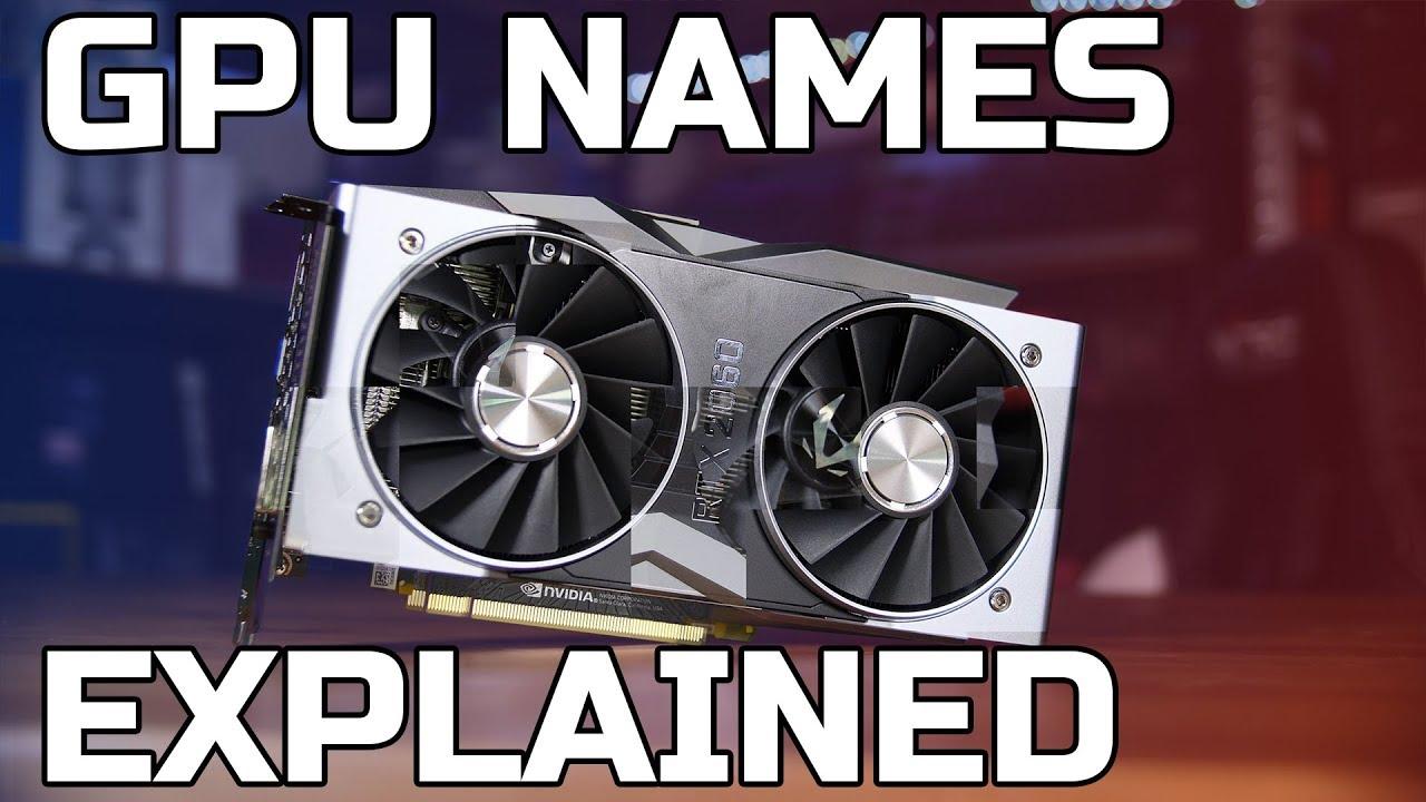 Download GPU Names Explained - RTX, GTX, RX...