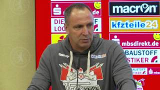 Pressekonferenz: Union Berlin - Fortuna Düsseldorf