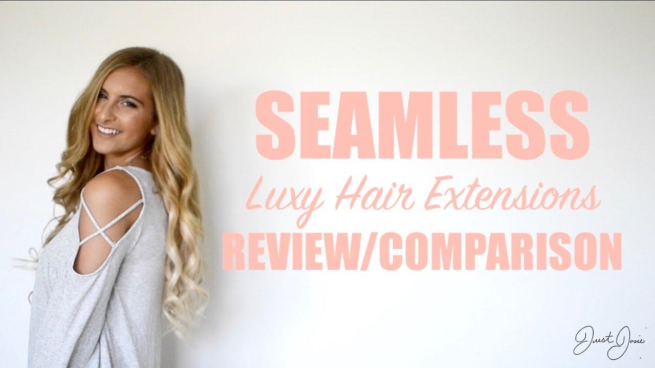 Foxy locks vs luxy hair - Seamless Luxy Hair Extension Review Comparison Justjosie