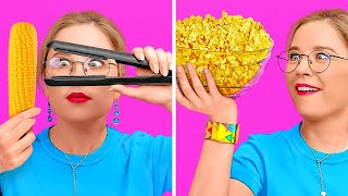 BEST TIKTOK FOOD TRICKS! || Funny Food Pranks by 123 Go! Genius