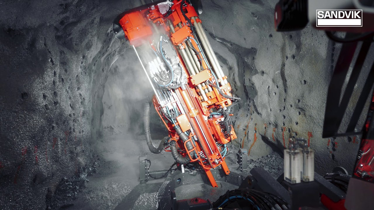 Sandvik DL422iE Longhole Drill - Intelligent and Fully Electric