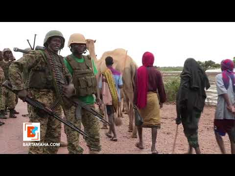 AMISOM and SNA troops conduct military operation in Somalia's Lower Shabelle region