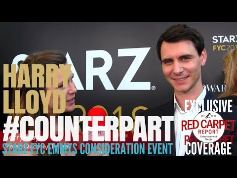 Harry Lloyd ed at Starz Emmys FYC Event for Counterpart FYCEmmys