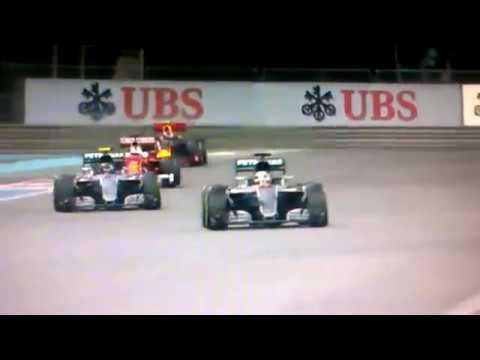 F1 2016 Abu Dhabi Final Lap + Rosberg World Champion Team Radio