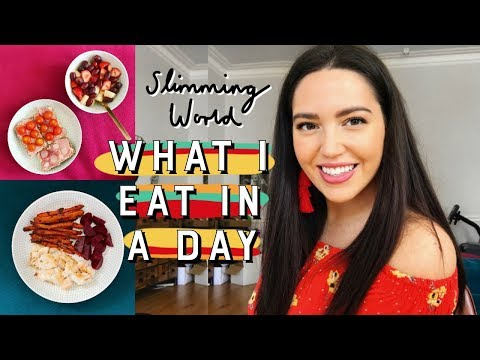 WHAT I EAT IN A DAY 🍉 Slimming World #2