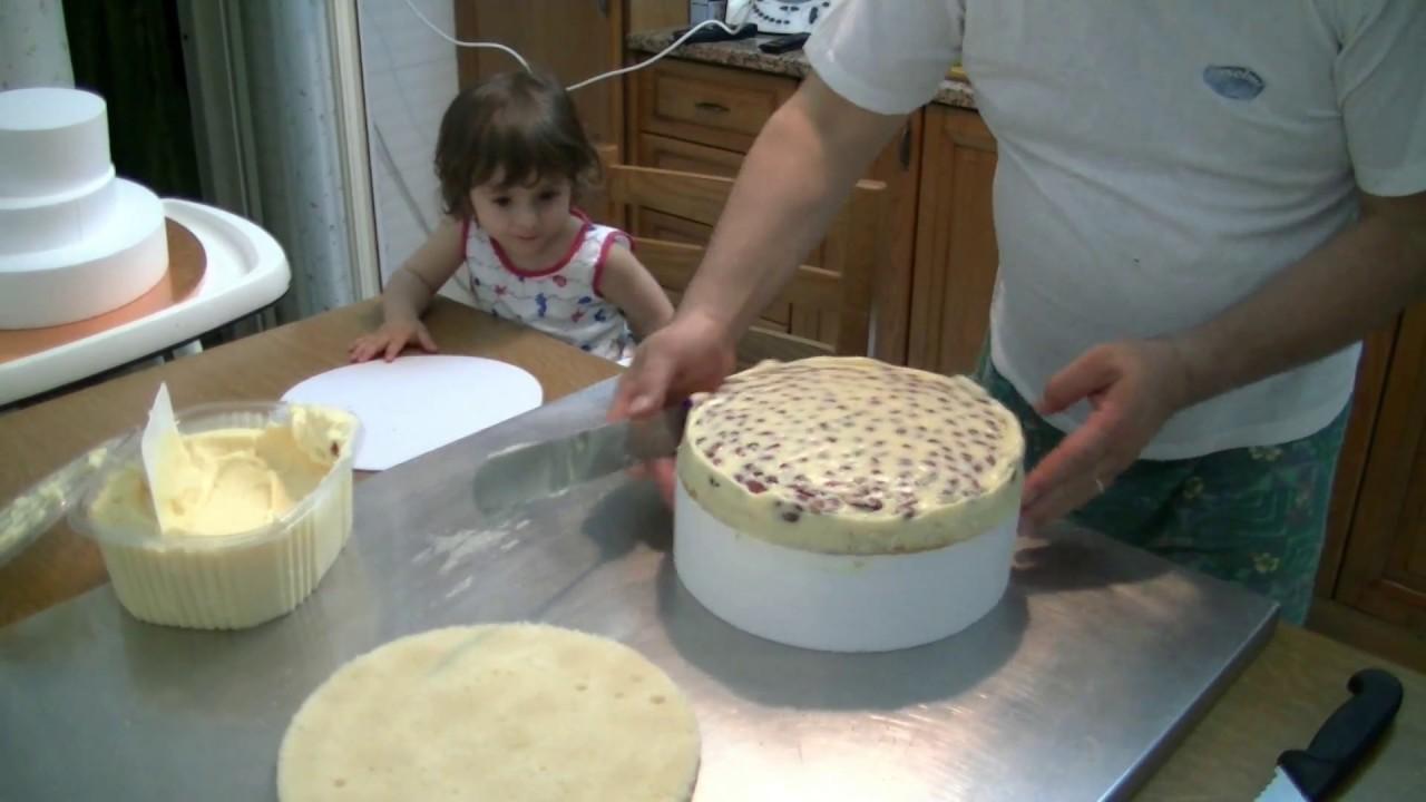 Eccezionale Come fare una torta per Nozze D'oro 1° Parte - YouTube AI97
