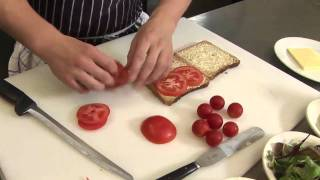 How To Make Tomato Sandwiches