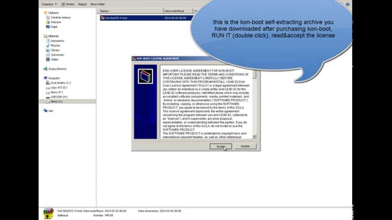 kon boot windows 8.1 uefi