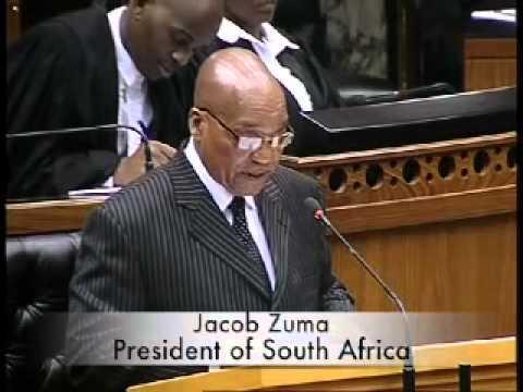 President Jacob Zuma receives the National Development Plan, 15 August 2012