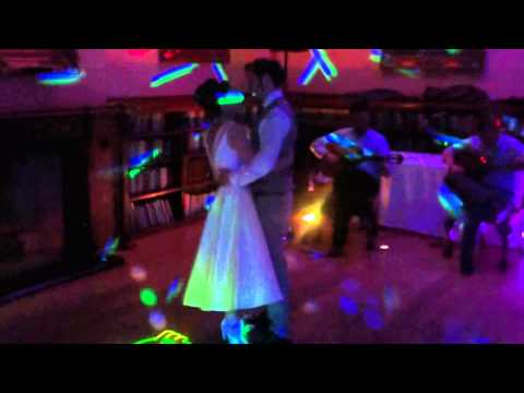 First Dance with wonderful couple Sarah and Chris at Orchardleigh House a fairy tale venue