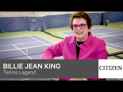 Billie Jean King Powers On With Citizen