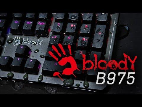 Самая дорогая игровая клавиатура Bloody
