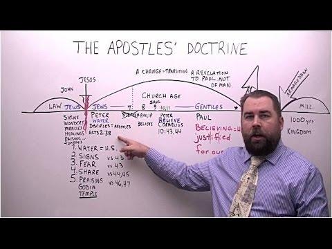 The Apostles' Doctrine vs Paul's Revelation