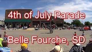 2017 4th of July Roundup Parade - Belle Fourche SD