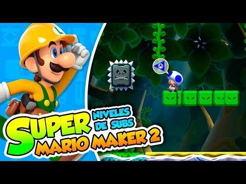¡No saltes pequeño Toad! - #03 - Super Mario Maker 2 (Niveles de Subs) DSimphony