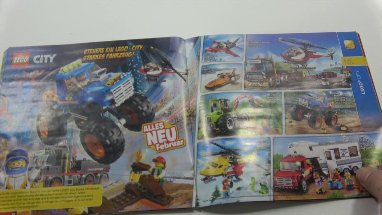 Lego Katalog Januar Bis Juni 2018 Durchgeblättert Youtube