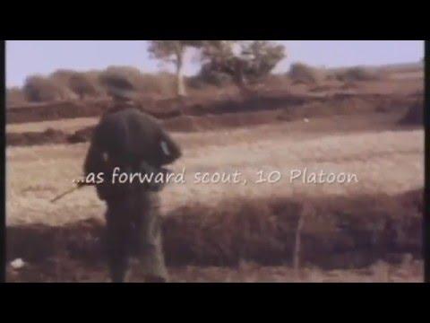 Private Don Tate with 4RAR, Vietnam War, 1969