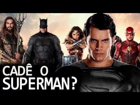 TRAILER DA LIGA DA JUSTIÇA: AONDE FOI PARAR O SUPERMAN? QUEM SERÁ O VILÃO?